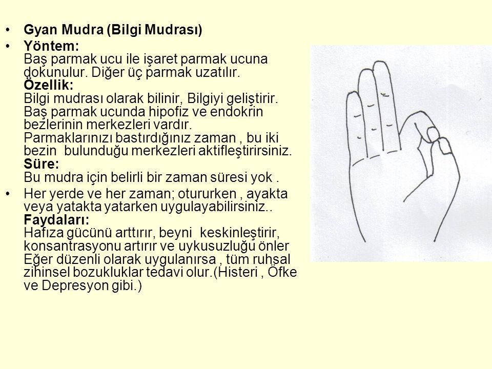 Gyan Mudra (Bilgi Mudrası)