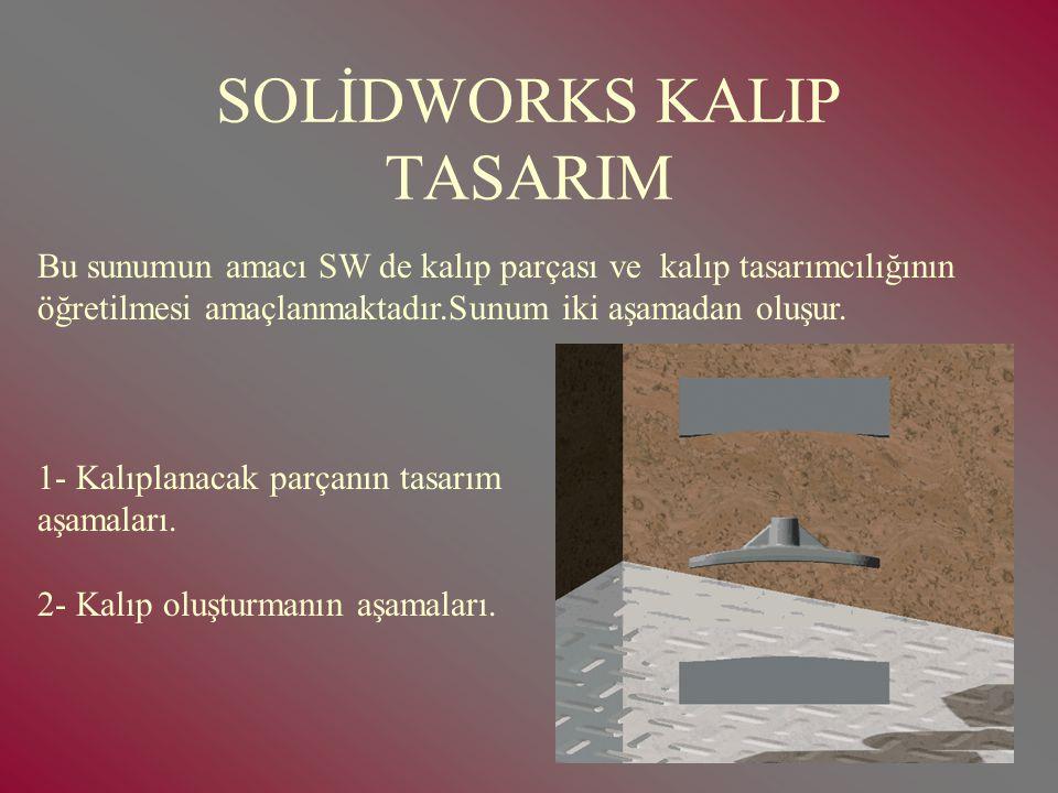 SOLİDWORKS KALIP TASARIM