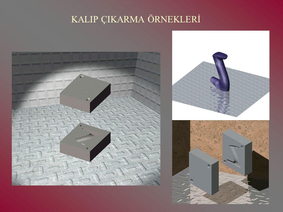 KALIP ÇIKARMA ÖRNEKLERİ