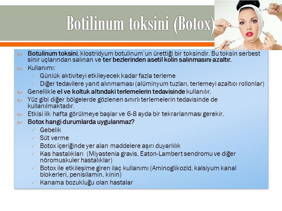 Botilinum toksini (Botox)