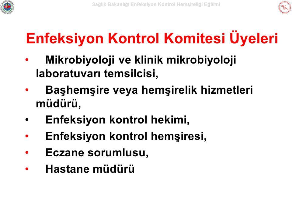 Enfeksiyon Kontrol Komitesi Üyeleri