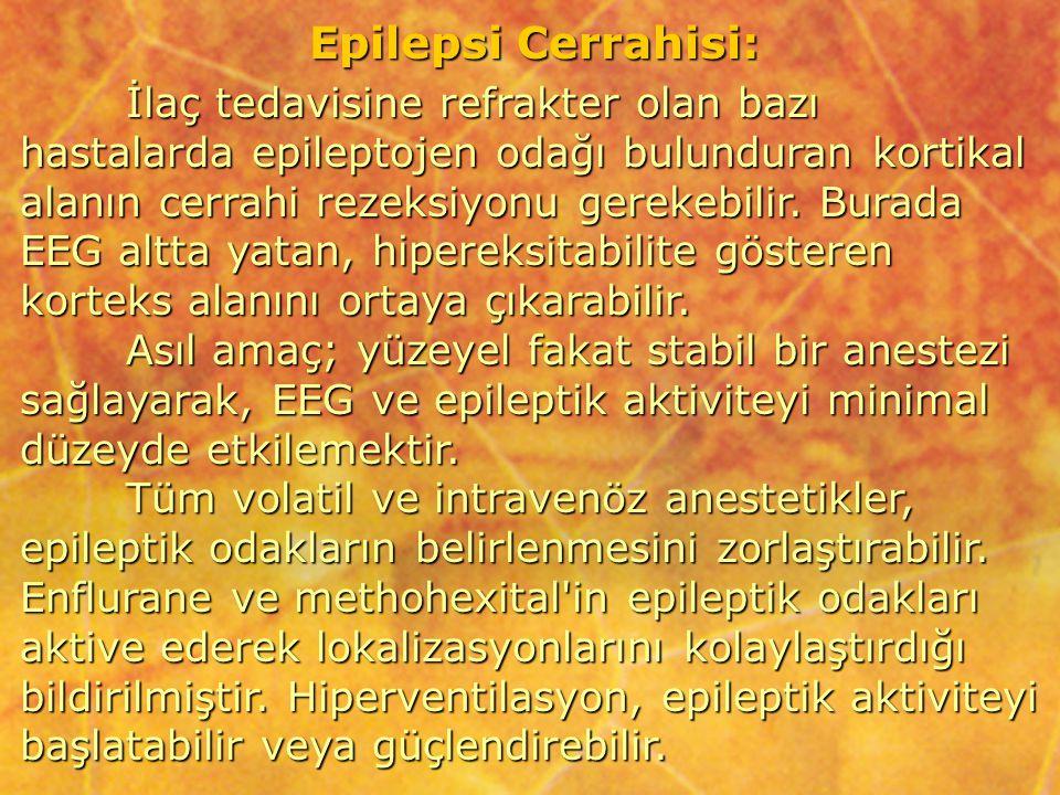 Epilepsi Cerrahisi: