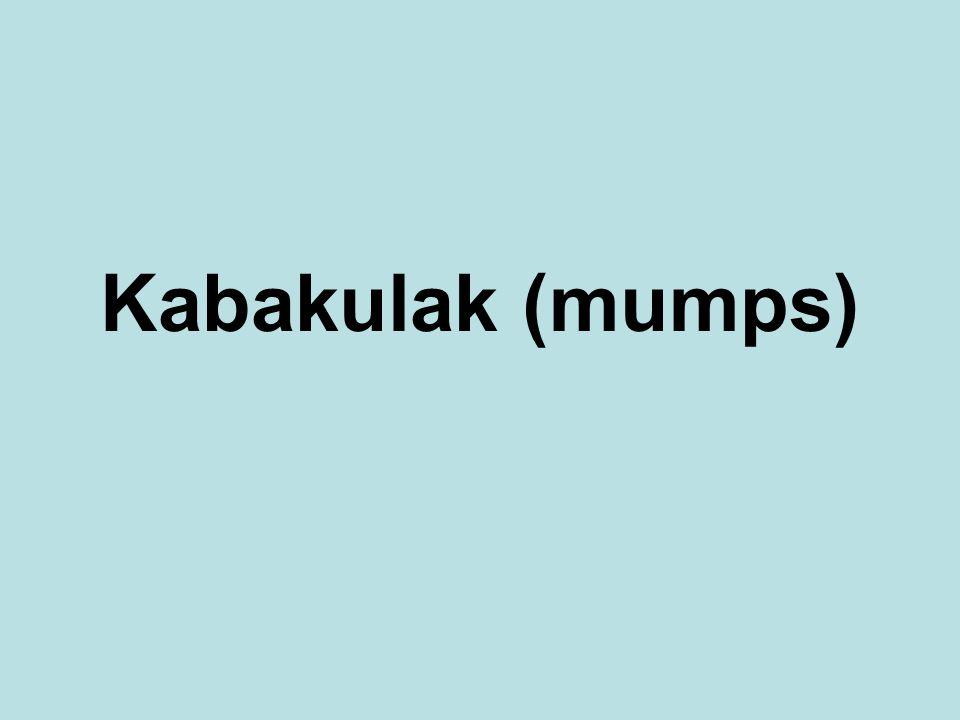 Kabakulak (mumps)
