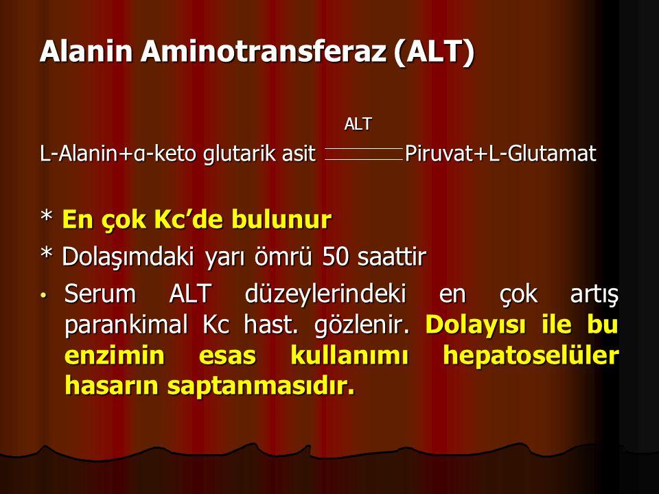 Alanin Aminotransferaz (ALT)