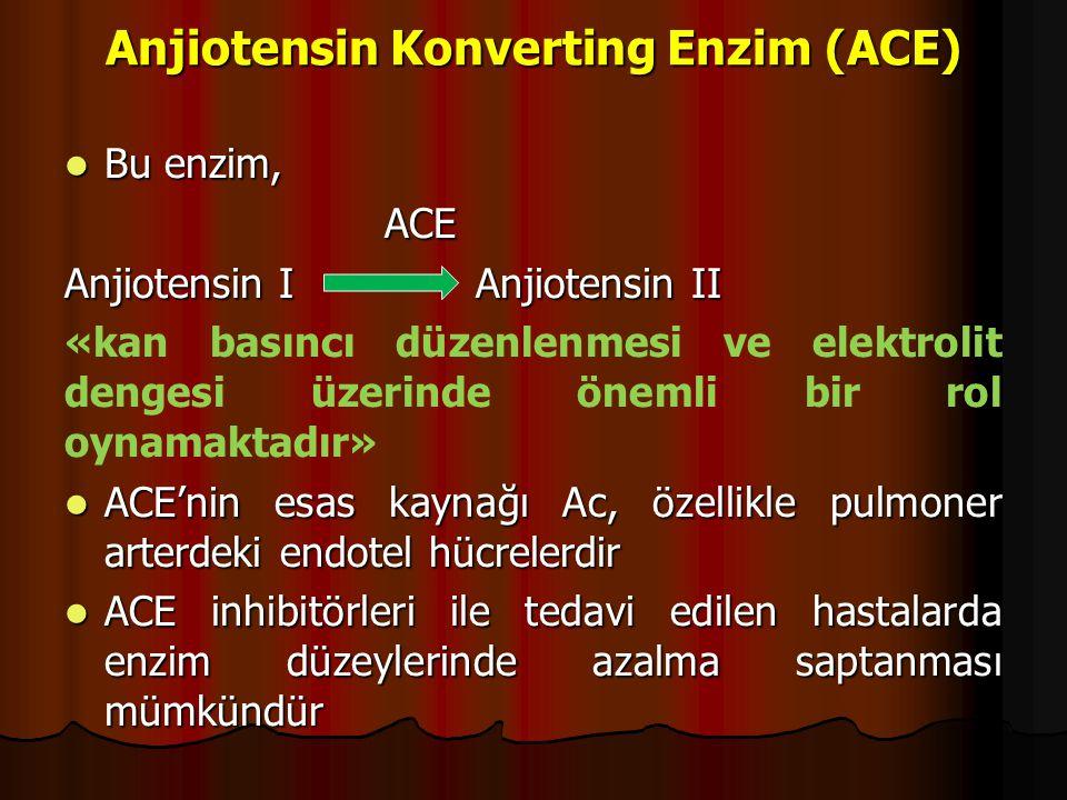 Anjiotensin Konverting Enzim (ACE)