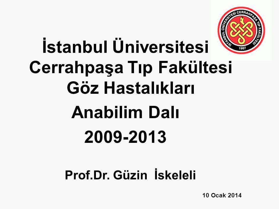 İstanbul Üniversitesi Cerrahpaşa Tıp Fakültesi Göz Hastalıkları