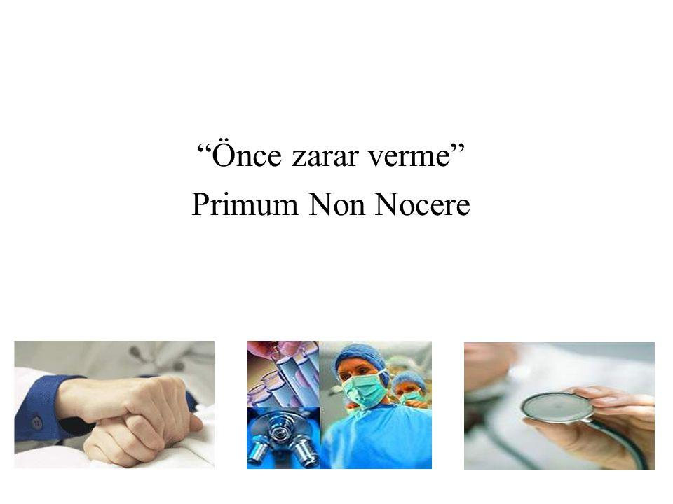 Önce zarar verme Primum Non Nocere