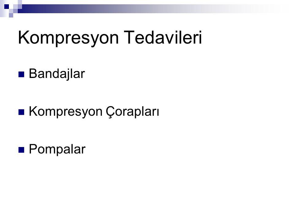 Kompresyon Tedavileri