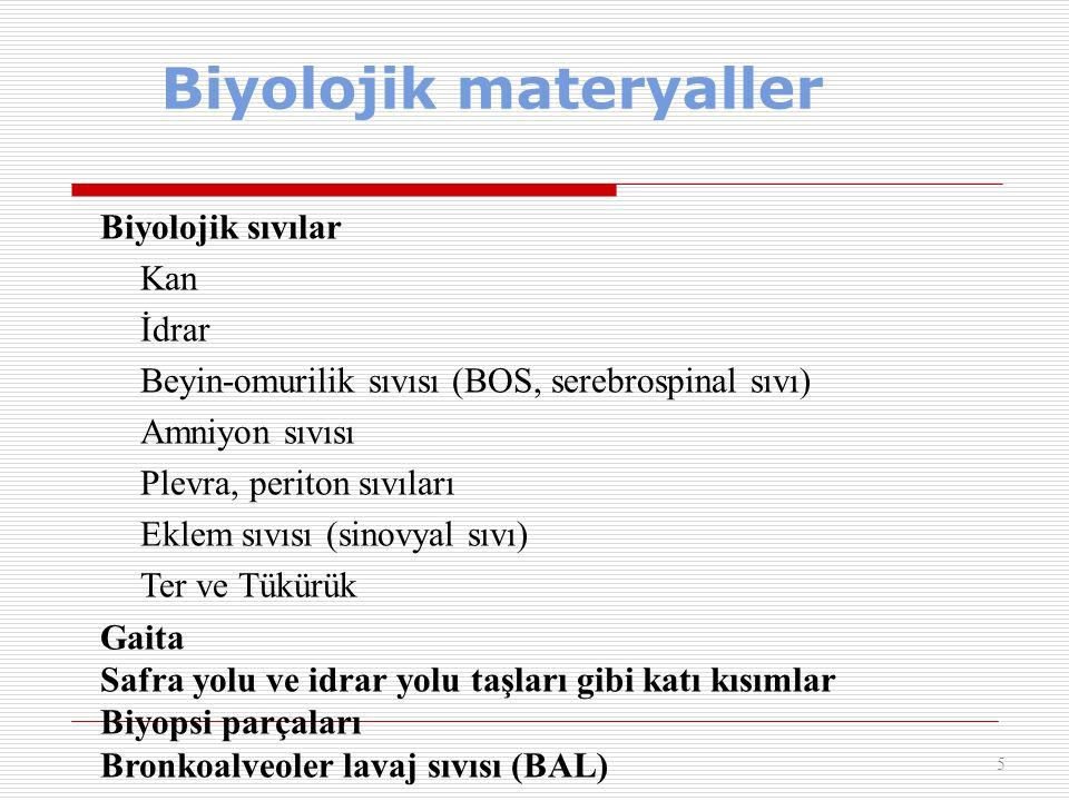 Biyolojik materyaller