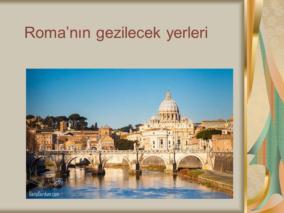Roma'nın gezilecek yerleri