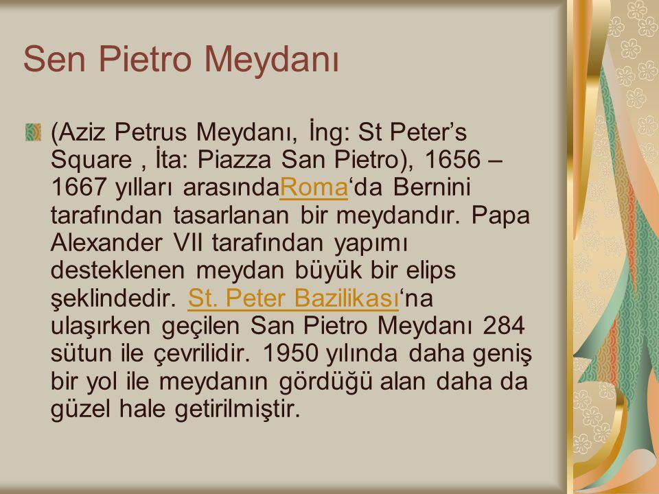 Sen Pietro Meydanı