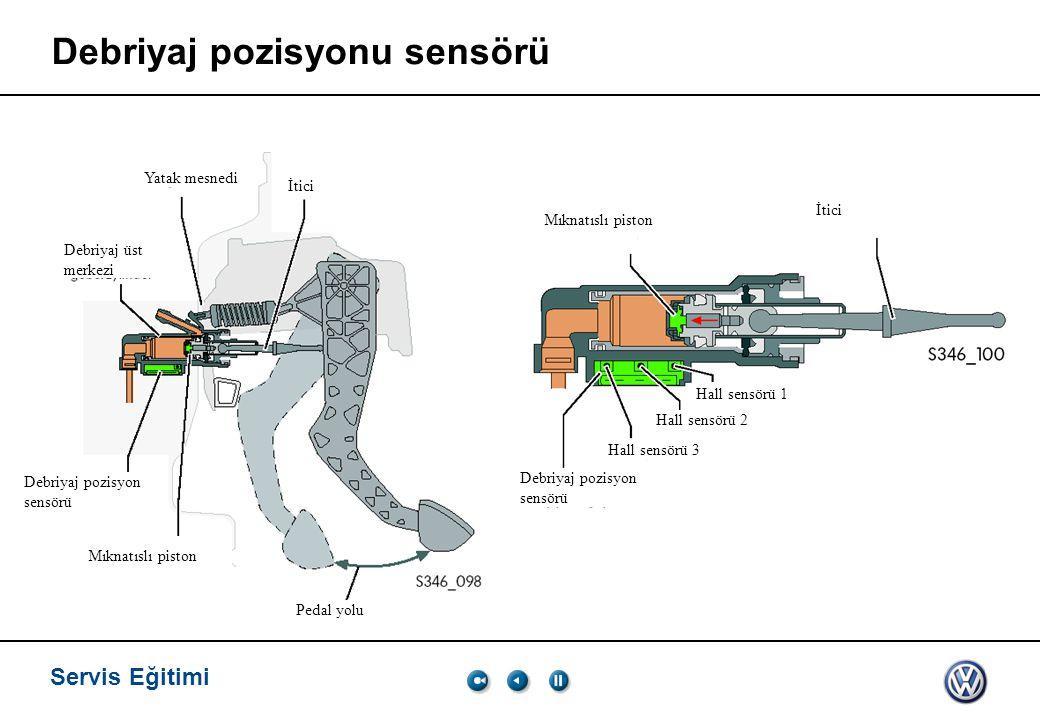 Debriyaj pozisyonu sensörü