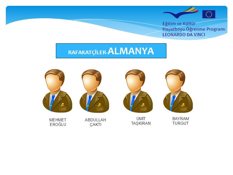 RAFAKATÇİLER-ALMANYA