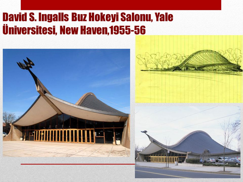David S. Ingalls Buz Hokeyi Salonu, Yale Üniversitesi, New Haven,
