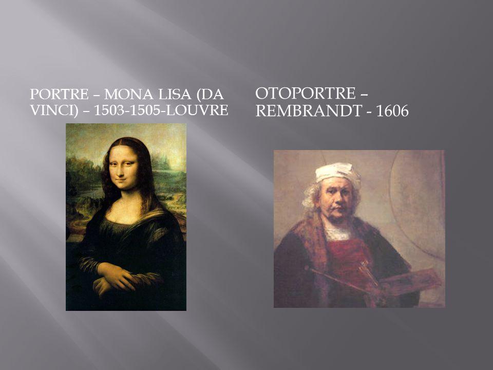 Otoportre – Rembrandt - 1606