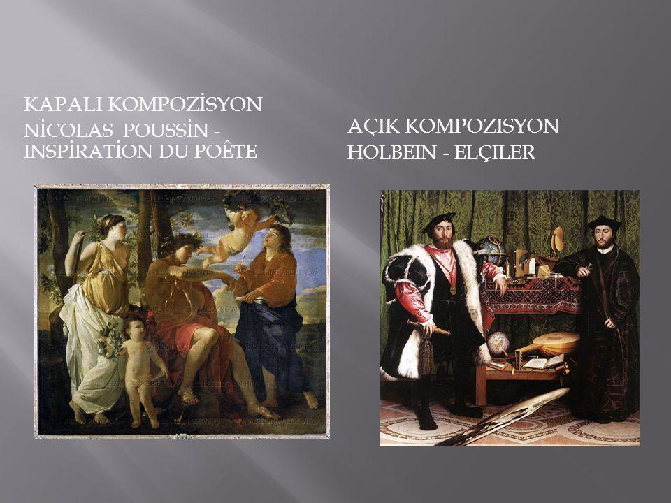 KAPALI KOMPOZİSYON AçIk kompozisyon