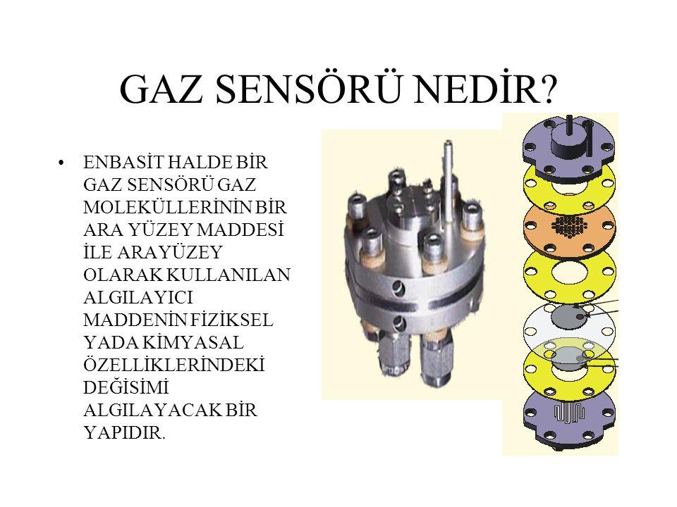 GAZ SENSÖRÜ NEDİR