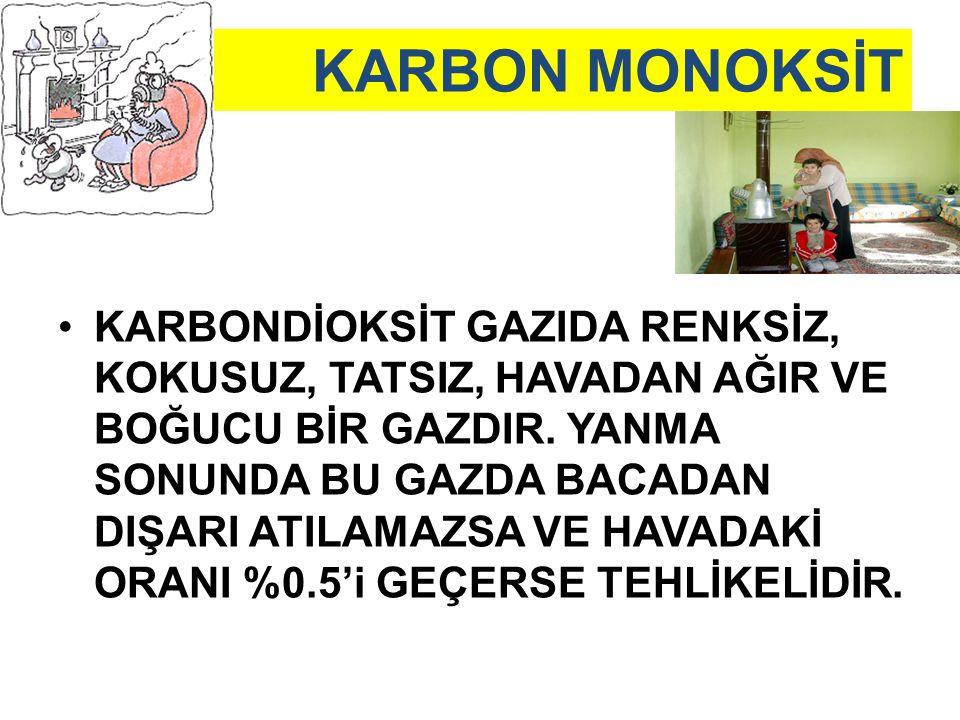 KARBON MONOKSİT