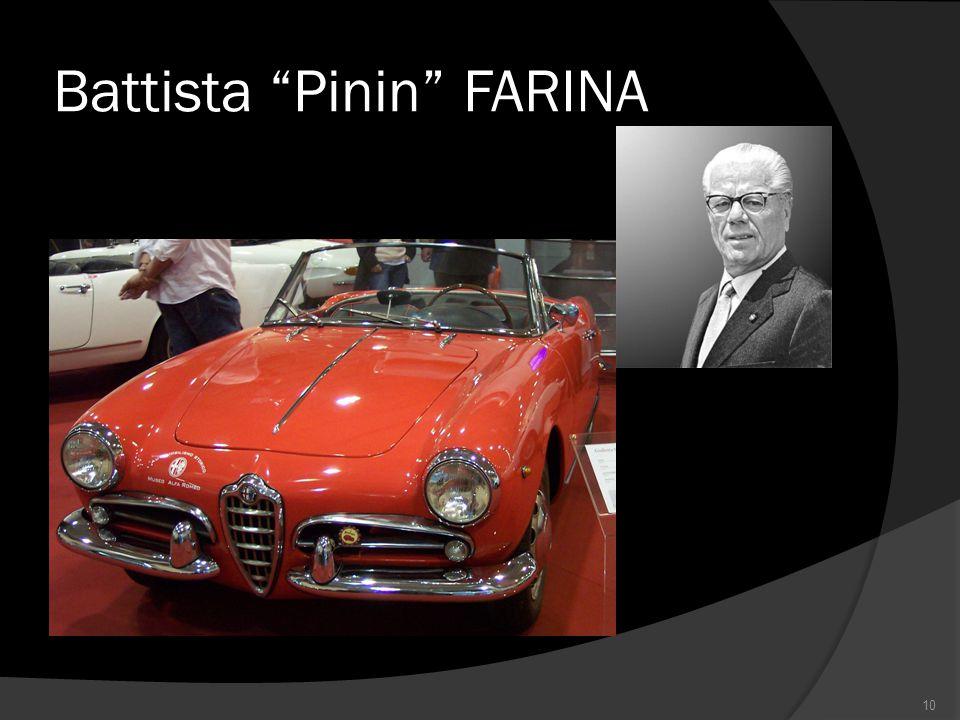 Battista Pinin FARINA