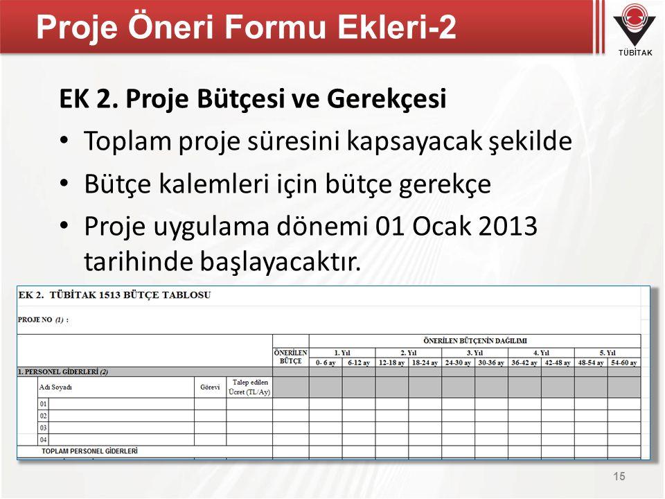 Proje Öneri Formu Ekleri-2