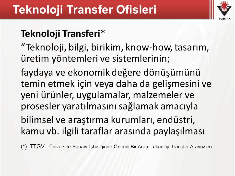 Teknoloji Transfer Ofisleri