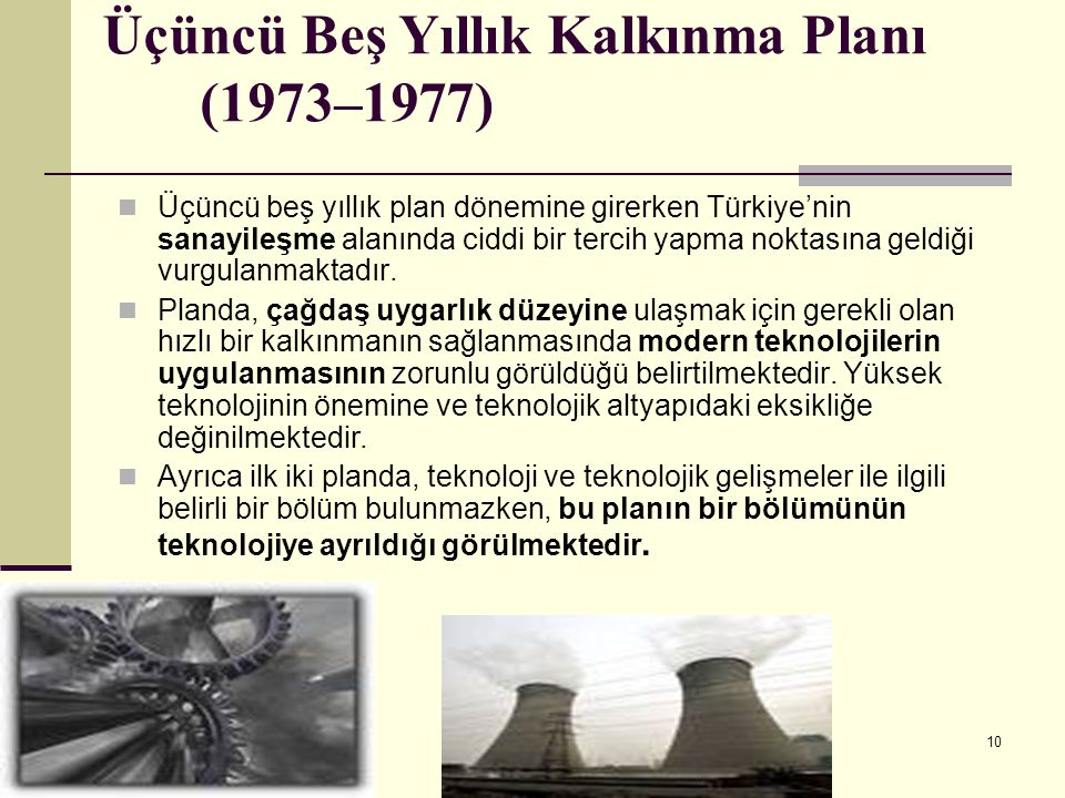 Üçüncü Beş Yıllık Kalkınma Planı (1973–1977)