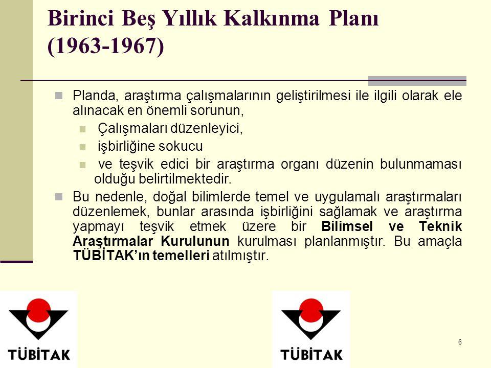 Birinci Beş Yıllık Kalkınma Planı (1963-1967)