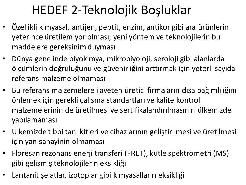 HEDEF 2-Teknolojik Boşluklar