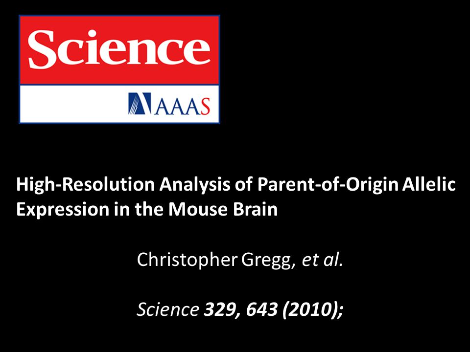 Christopher Gregg, et al.