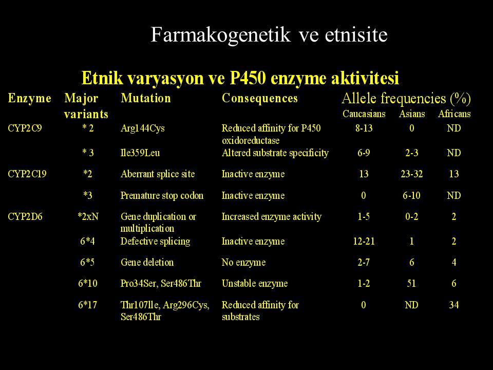 Farmakogenetik ve etnisite