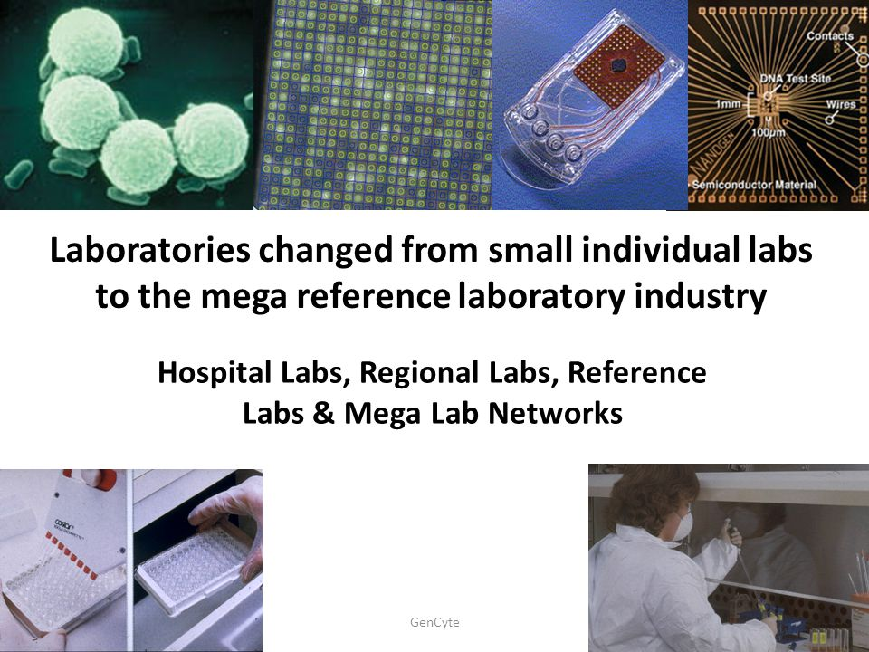 Hospital Labs, Regional Labs, Reference Labs & Mega Lab Networks
