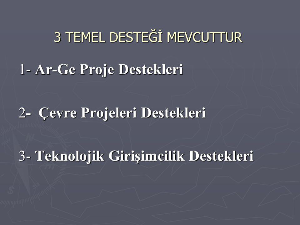 3 TEMEL DESTEĞİ MEVCUTTUR