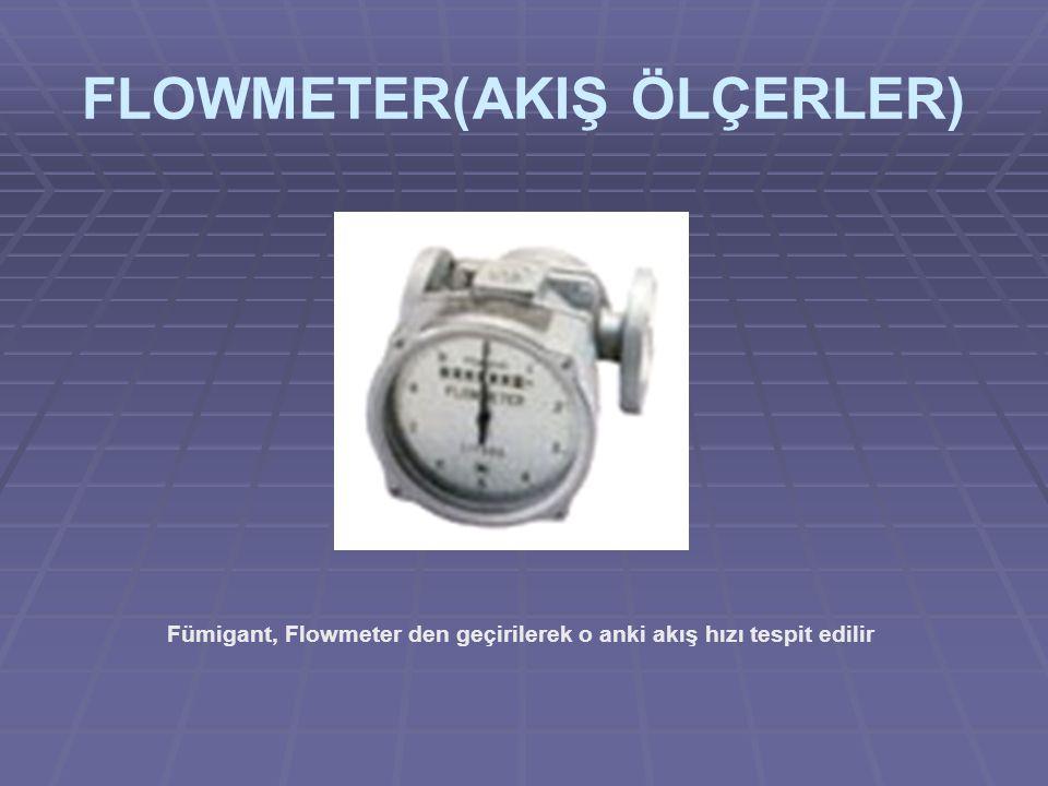 FLOWMETER(AKIŞ ÖLÇERLER)