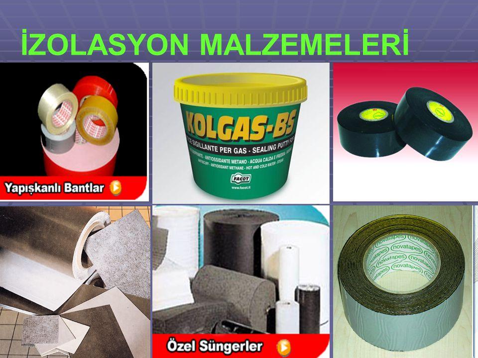 İZOLASYON MALZEMELERİ