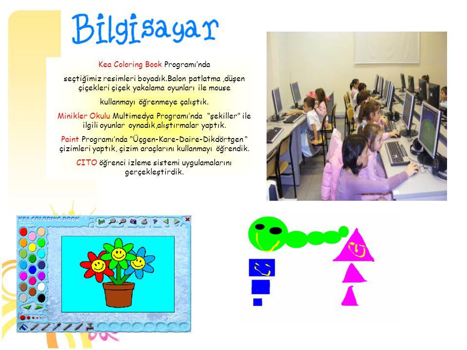 Kea Coloring Book Programı'nda