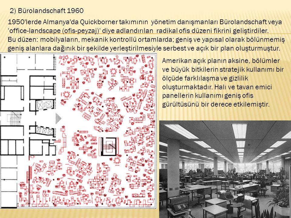 2) Bürolandschaft 1960