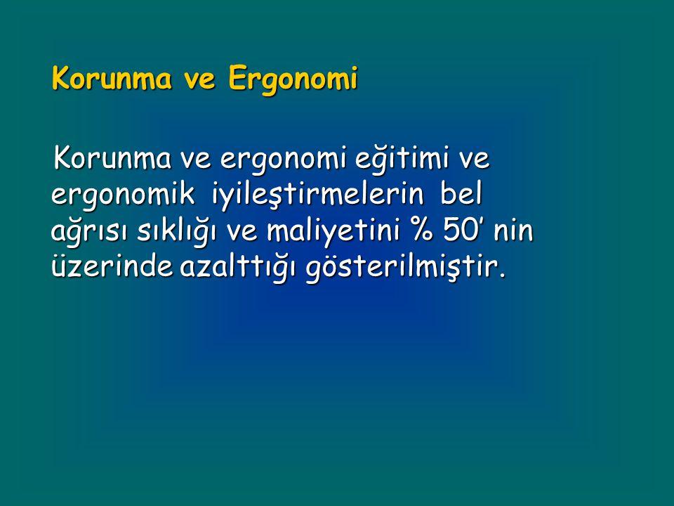 Korunma ve Ergonomi