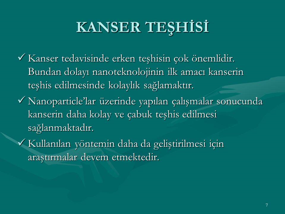 KANSER TEŞHİSİ