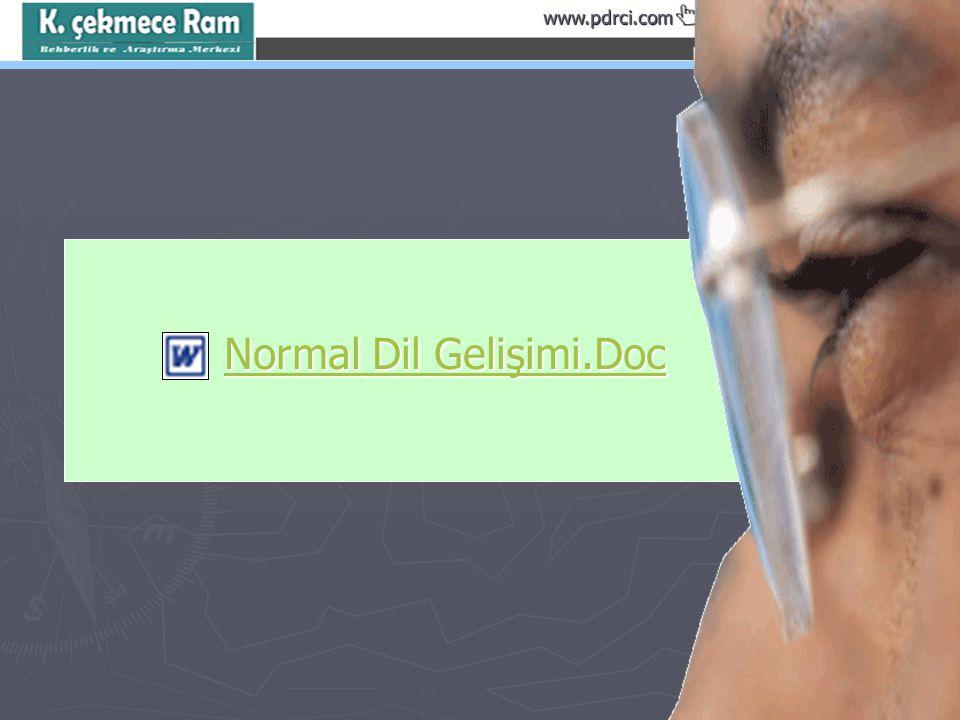 Normal Dil Gelişimi.Doc