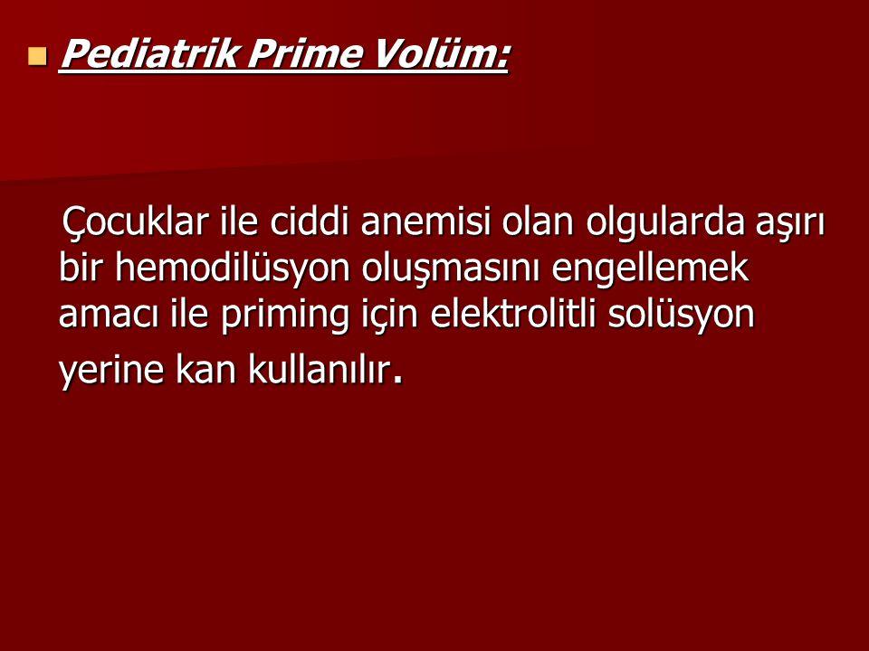 Pediatrik Prime Volüm: