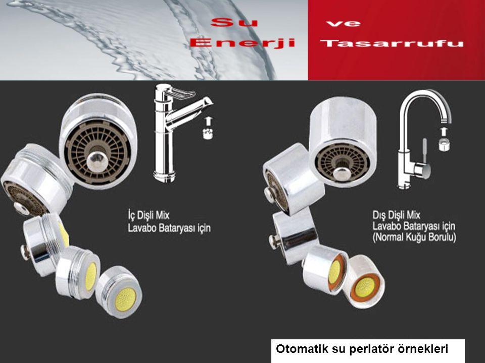 Otomatik su perlatör örnekleri