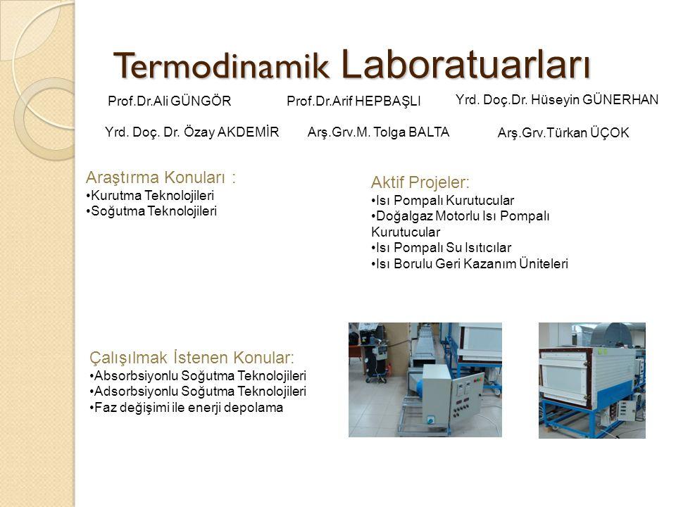 Termodinamik Laboratuarları