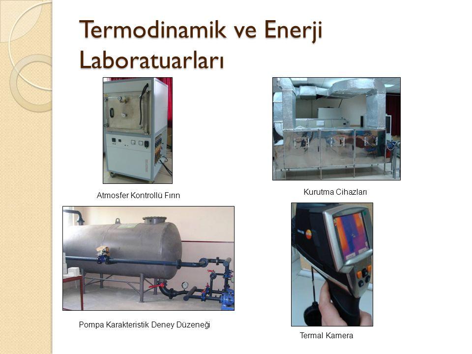 Termodinamik ve Enerji Laboratuarları