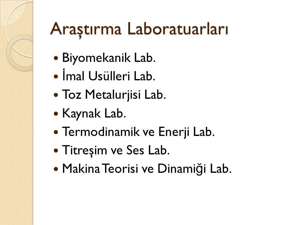 Araştırma Laboratuarları