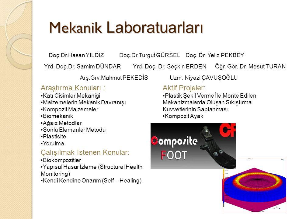 Mekanik Laboratuarları