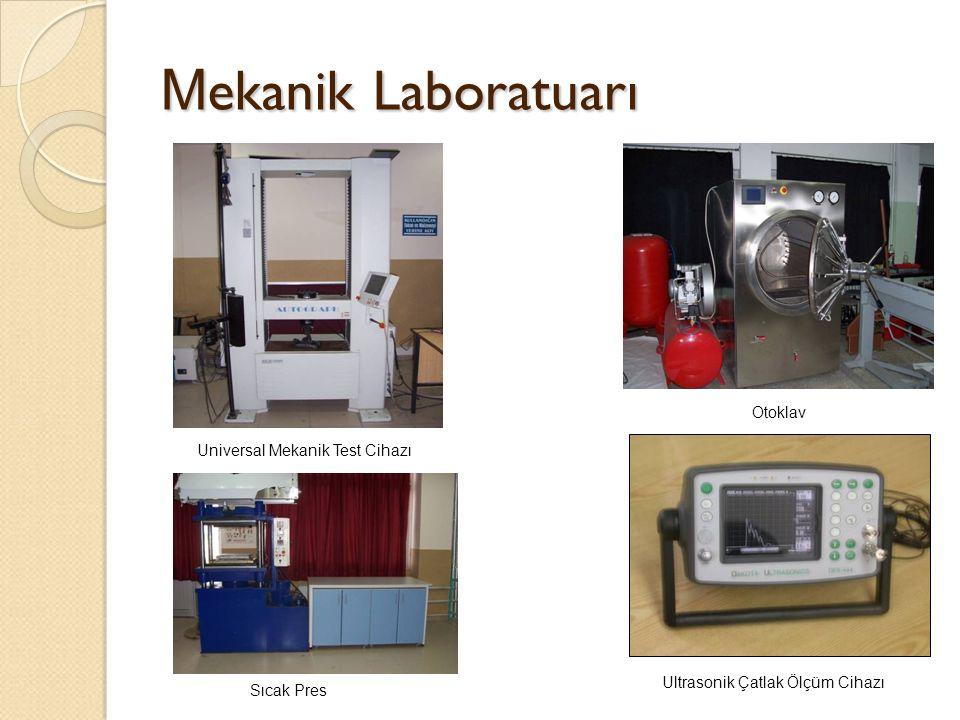 Mekanik Laboratuarı Otoklav Universal Mekanik Test Cihazı