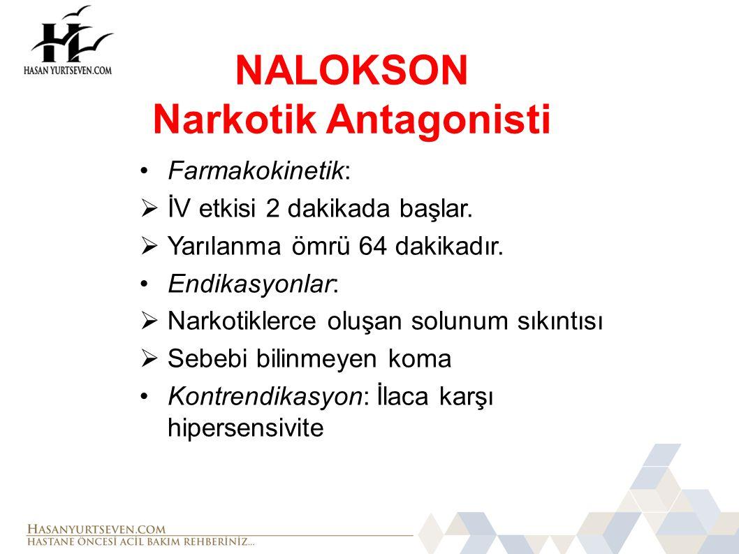 NALOKSON Narkotik Antagonisti