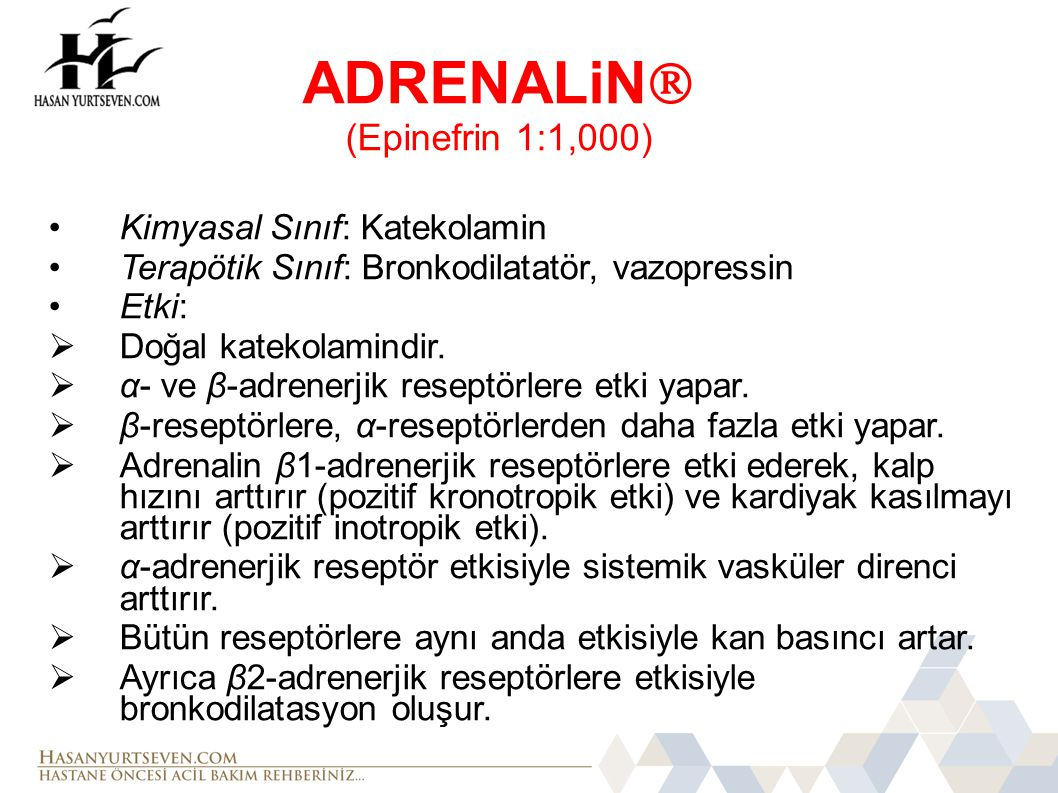 ADRENALiN (Epinefrin 1:1,000)