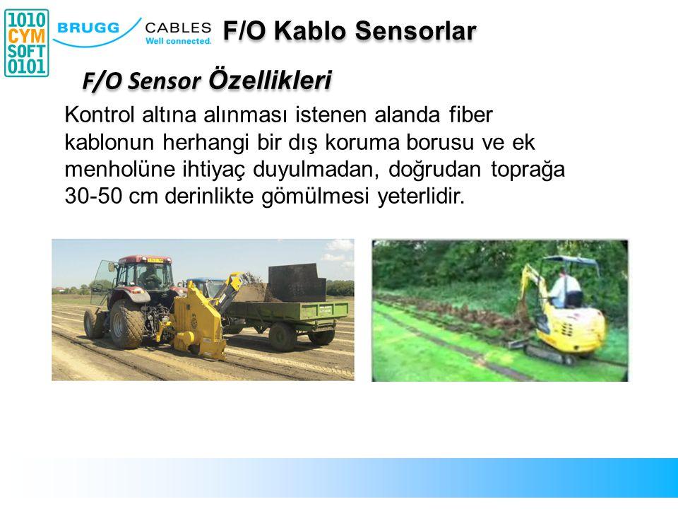 F/O Sensor Özellikleri