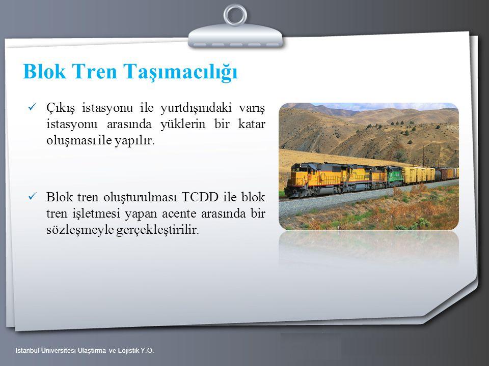 Blok Tren Taşımacılığı